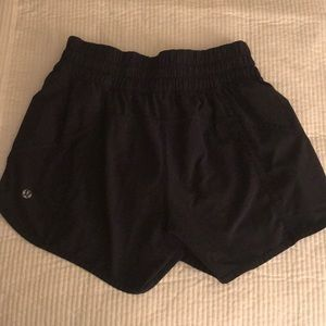 Lululemon Navy Tracker Shorts size 6